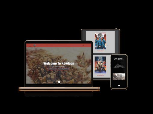 City Of Walls | Website Design