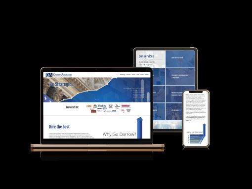 Darrow Investment Relations | Web Design