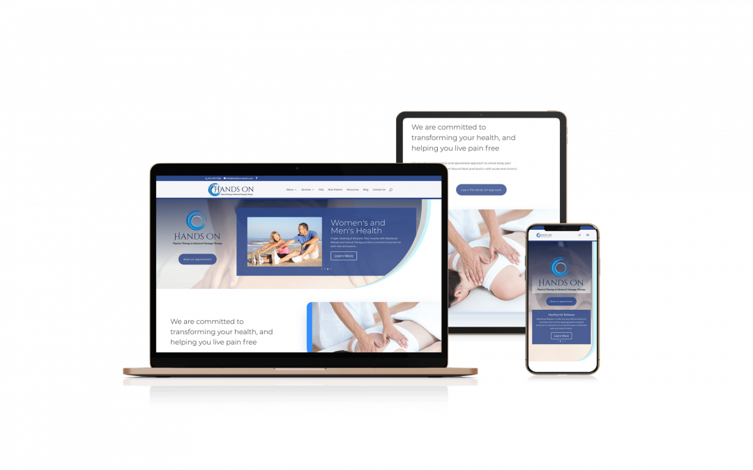Hands On Massage & Physical Therapy | Web Design