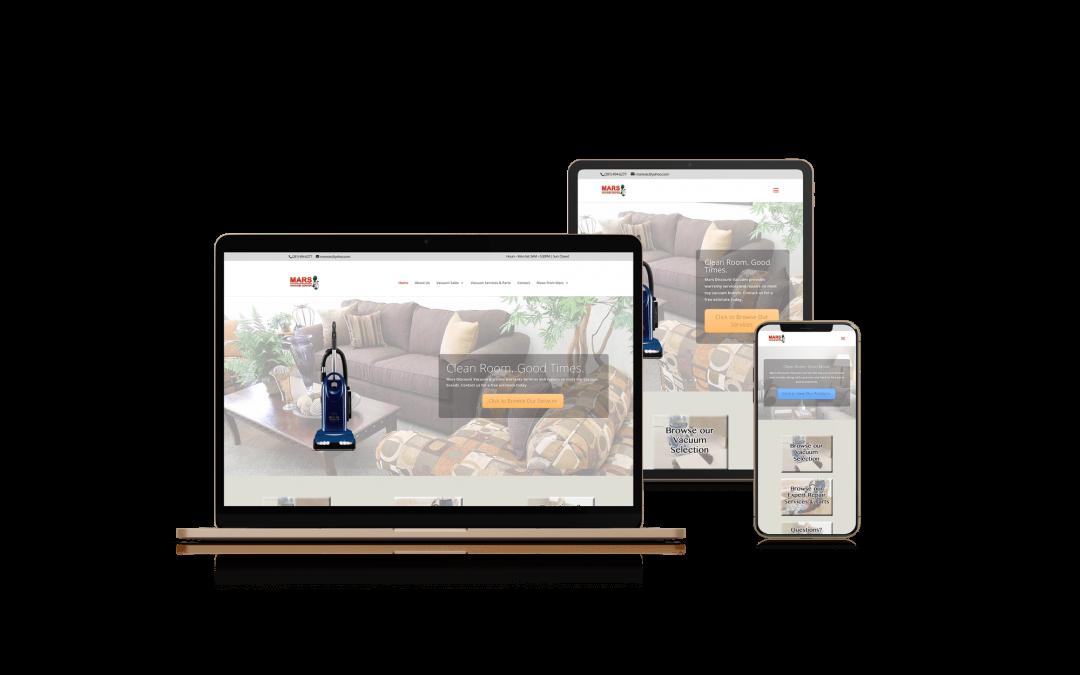 Mars Discount Vacuum | Web Design, Content Writing, Video Production, & Reptutation Managment